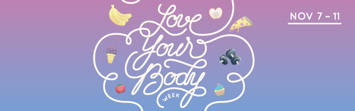 Love Your Body Week banner