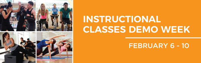 Instructional Classes Demo Week banner
