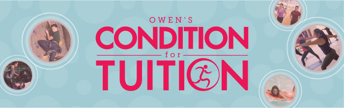 Owen's Condition for Tuition banner