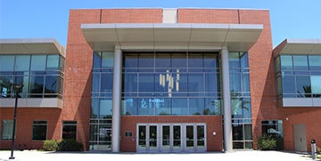 Front of Student Recreation and Wellness Center