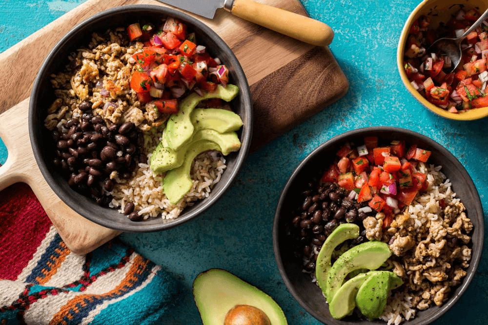 Taco Turkey Bowls
