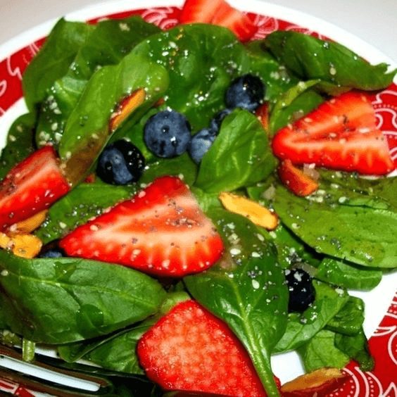 Refreshing Spinach Salad