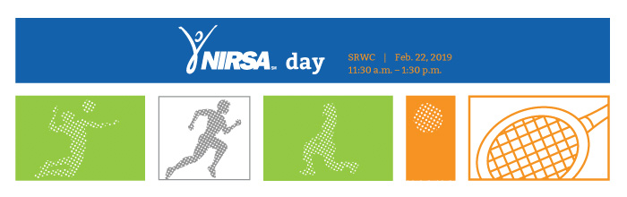 NIRSA Day at the SRWC Banner