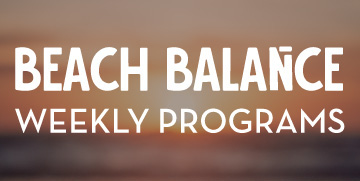 Beach balance button image